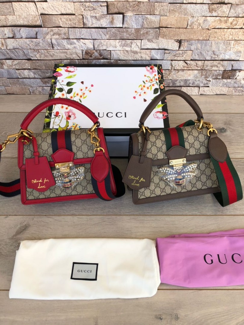 add31ee65638f7 Gucci Queen Margaret GG Small Top Handle bag, 476541 SuperMirror ...