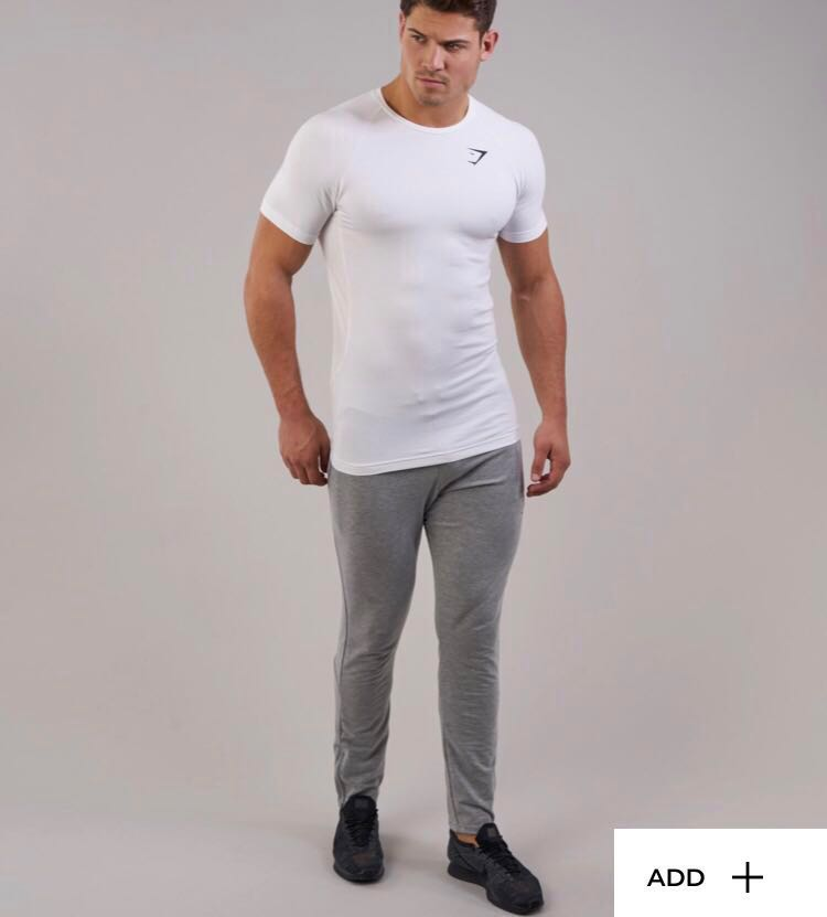 643556f1 Gymshark authentic V2 form T size M $3OFF, Sports, Sports Apparel on ...