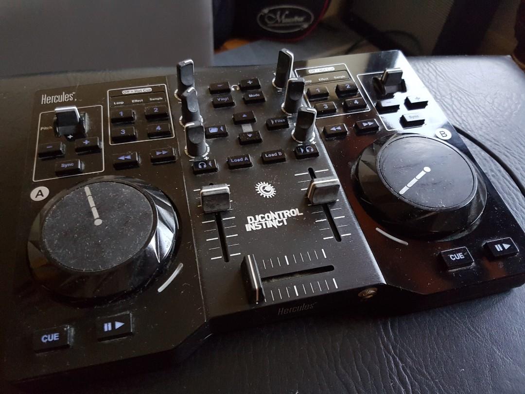 Hercules DJ Controller Instinct