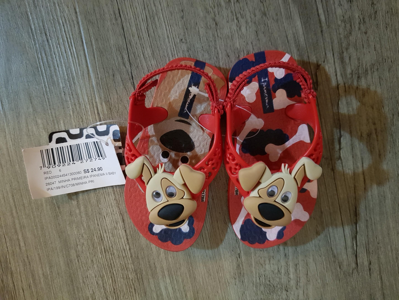 ba6ad3e6c Ipanema Cute doggy baby sandels