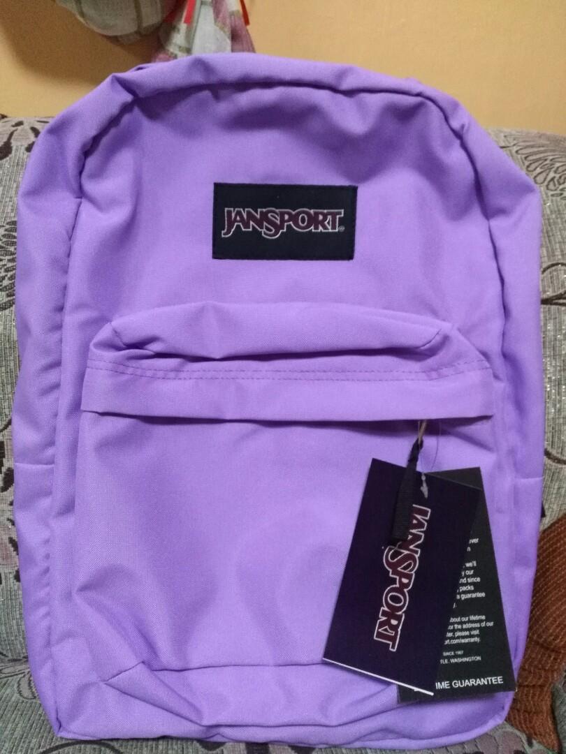 Lavender Jansport Superbreak Backpack – Patmo Technologies Limited