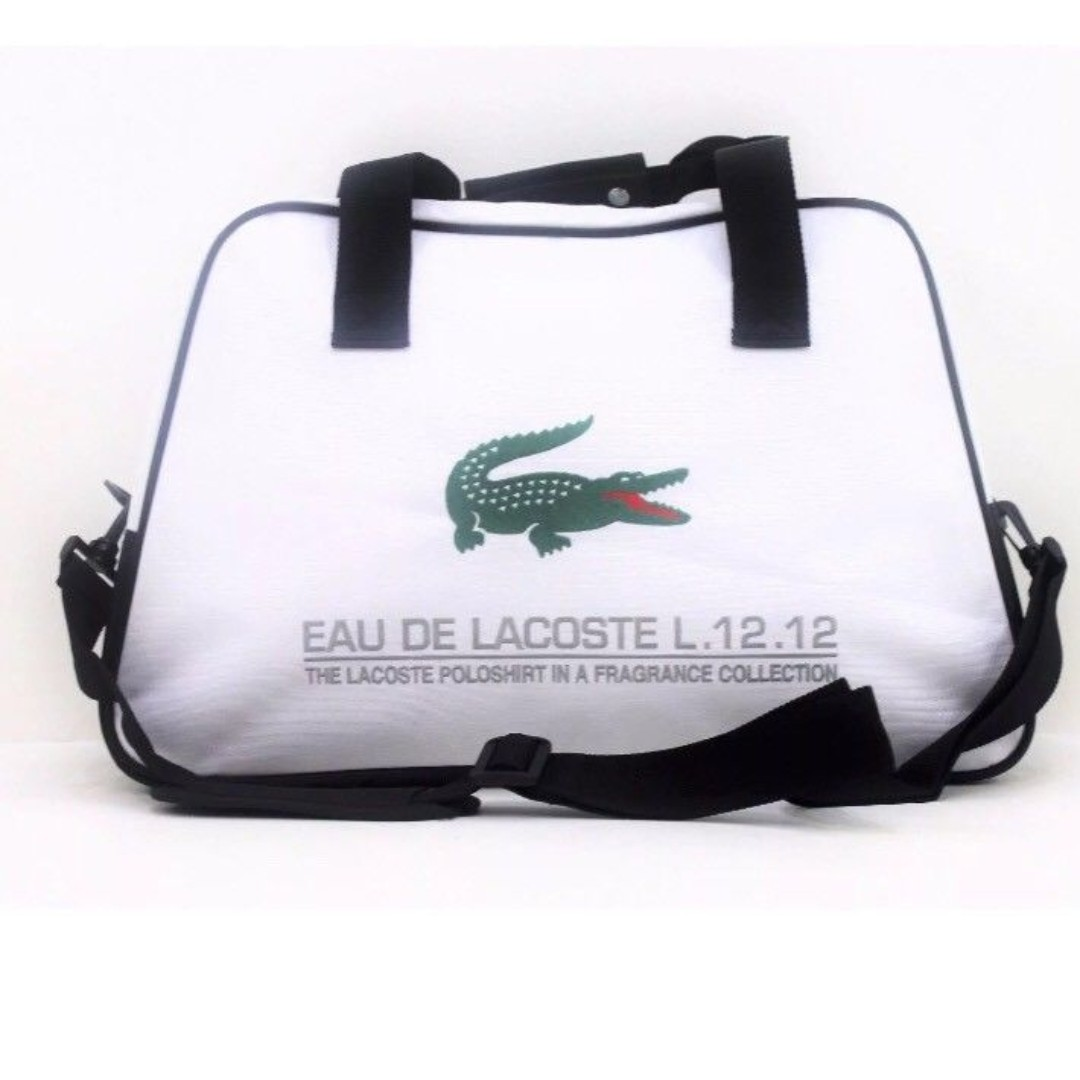 47f53afd3 Lacoste Duffel / Gym Bag, Men's Fashion, Bags & Wallets, Others on ...