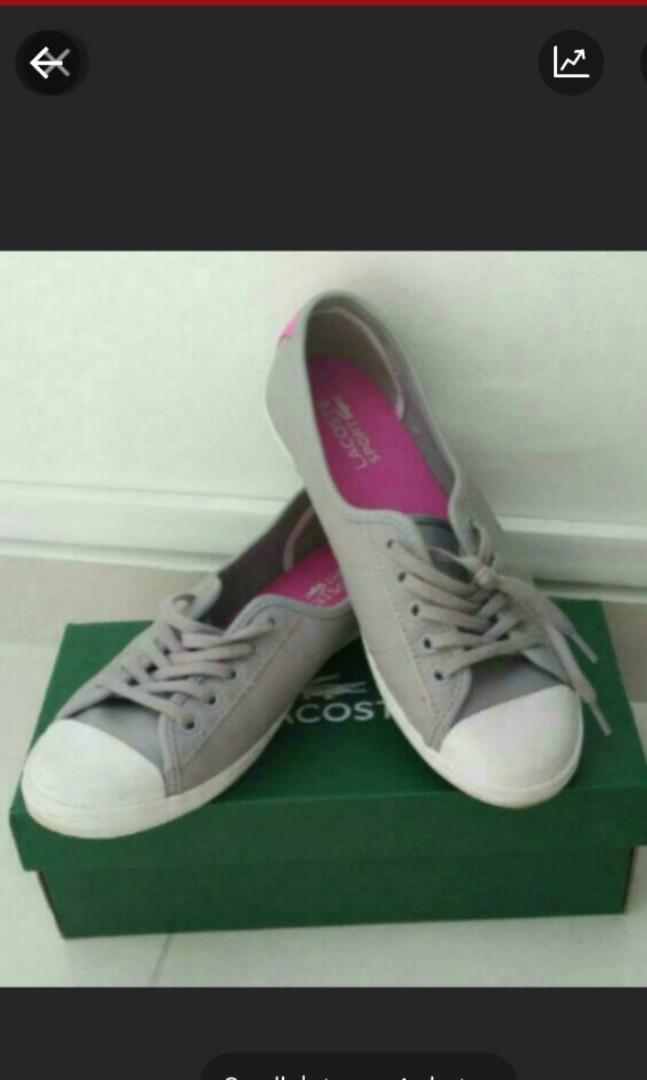 3a90783422e Lacoste slip on shoes size 7