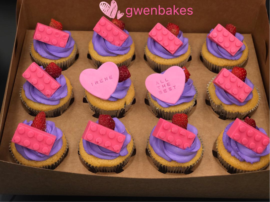 Lego Friends Cupcakes Food Drinks Baked Goods On Carousell