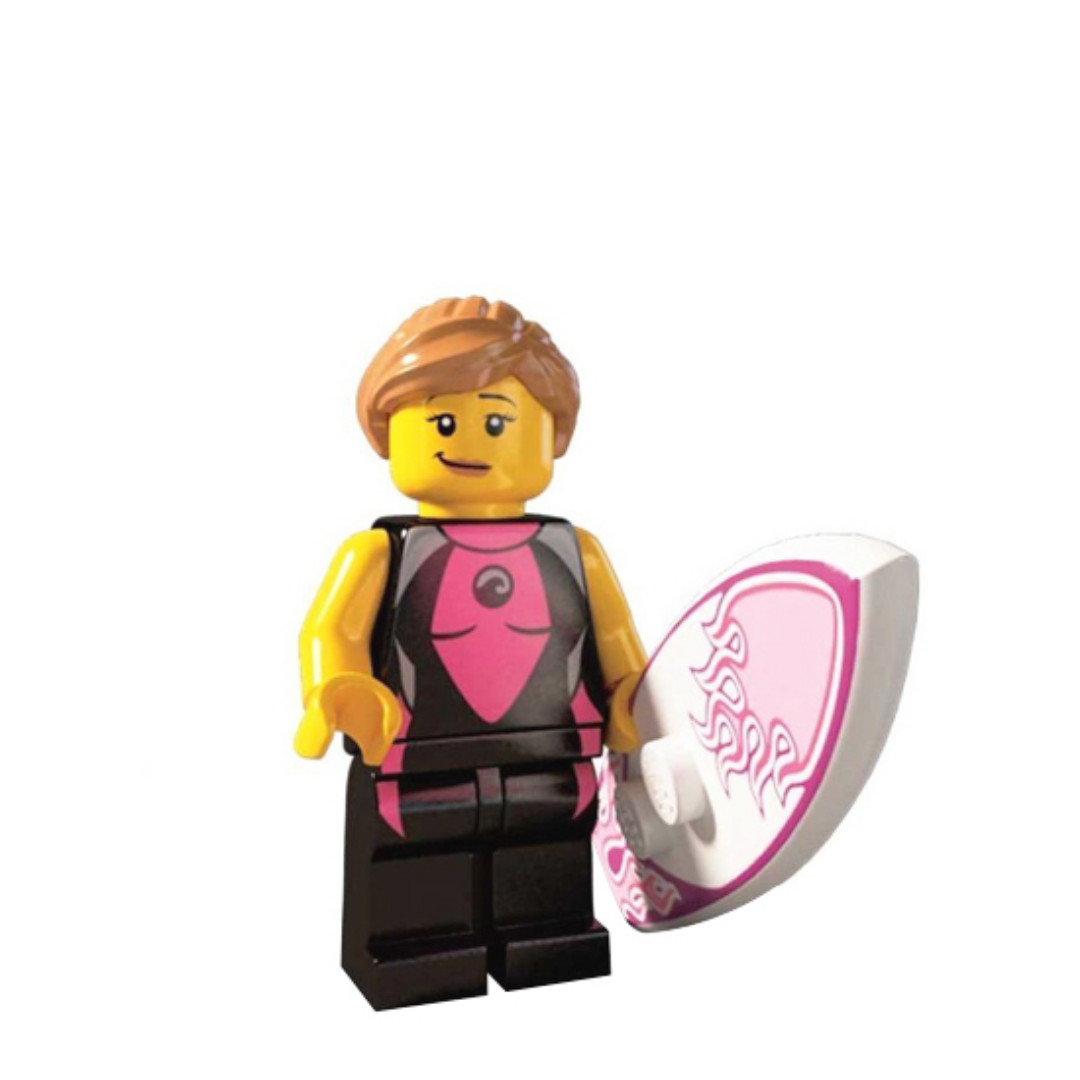 LEGO MINIFIGURES SERIES 4 8804 Surfer Girl