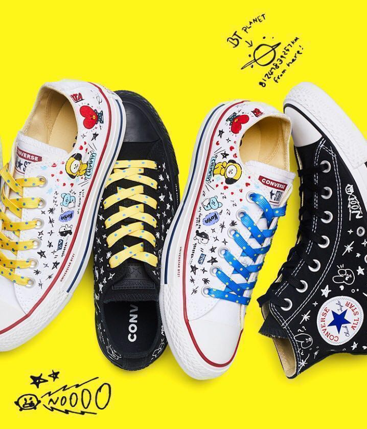 9bca52e5be68 Limited Edition Converse x BT21