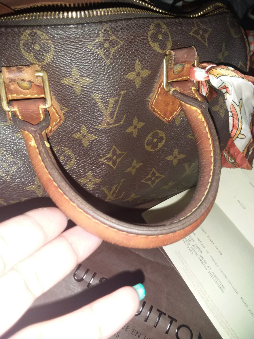 LV Speedy 25 original rush sale 945628275dbdd