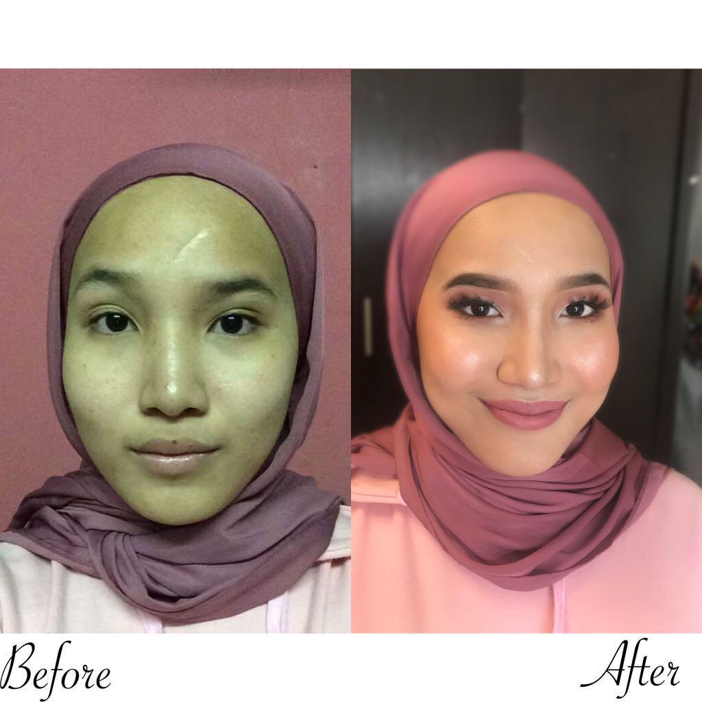 Makeup services RM70