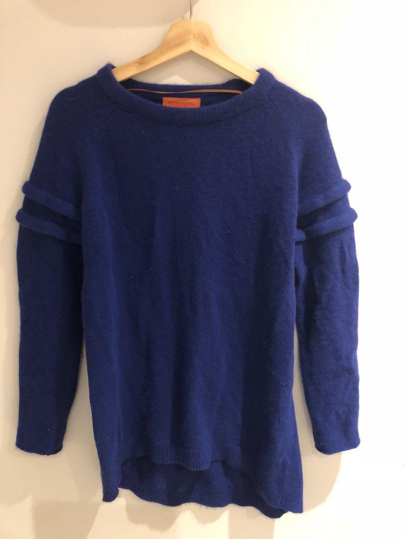 Manning Cartell Angora Knit Sweater