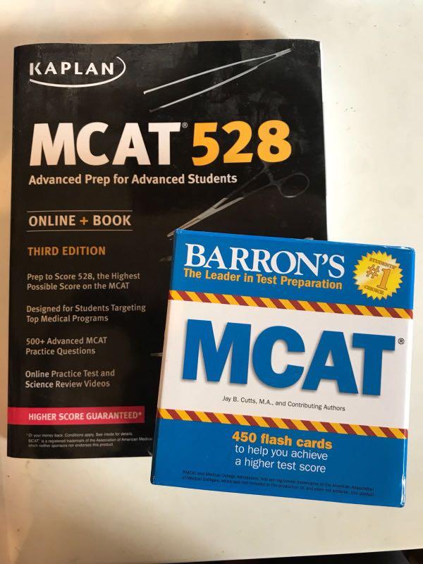 Mcat 528 Third Edition Barrons Mcat Flash Cards Books