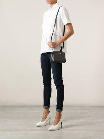 dd67d2f86d6d Michael Kors Mini Selma Crossbody Bag Black, Women's Fashion, Bags ...