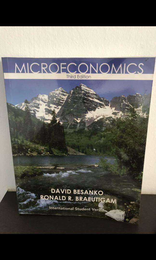 microeconomics third edition