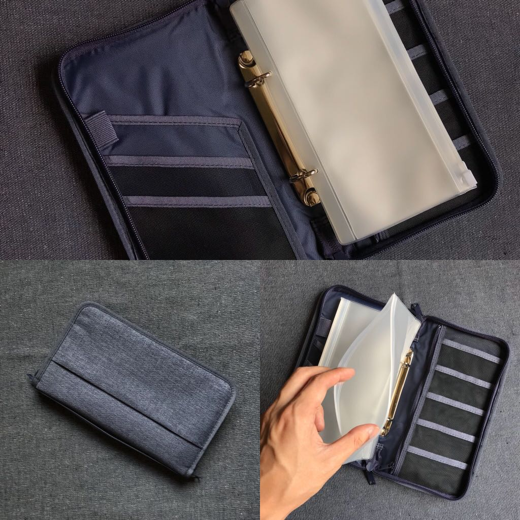 Muji Japan Travel Wallet Organizer Utility Pouch Travel Travel Essentials Travel Accessories On Carousell