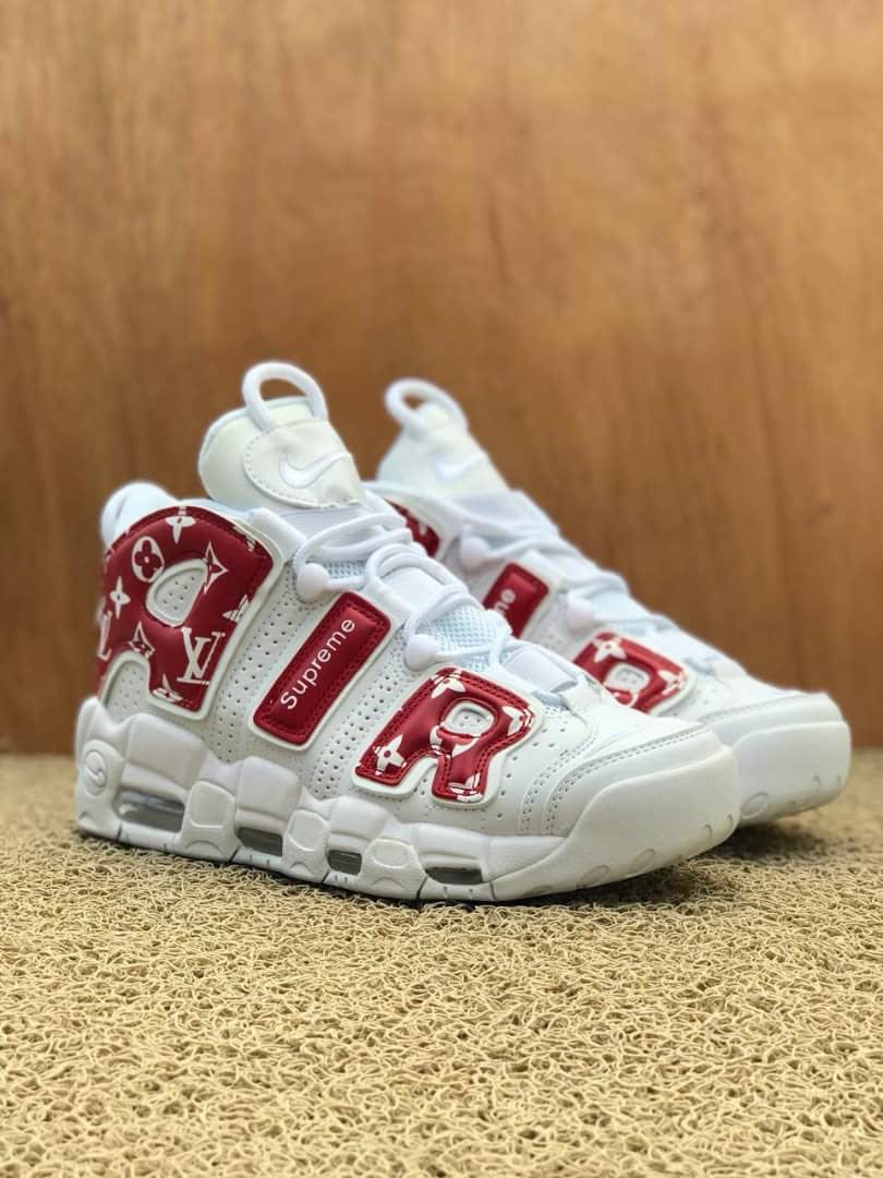 Influente finzione grande  Nike air uptempo supreme LV, Men's Fashion, Footwear on Carousell