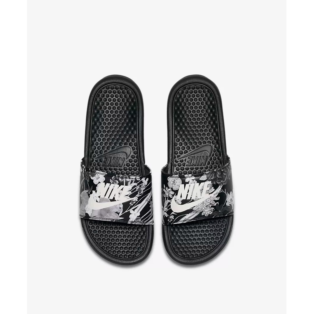 e48ac0f41ba6 LIMITED TIME OFFER  NIKE BENASSI JDI PRINT WOMEN S SLIDE - BLACK ...
