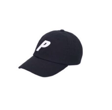 3e48f82aad6 Palace P 6-Panel Black Cap