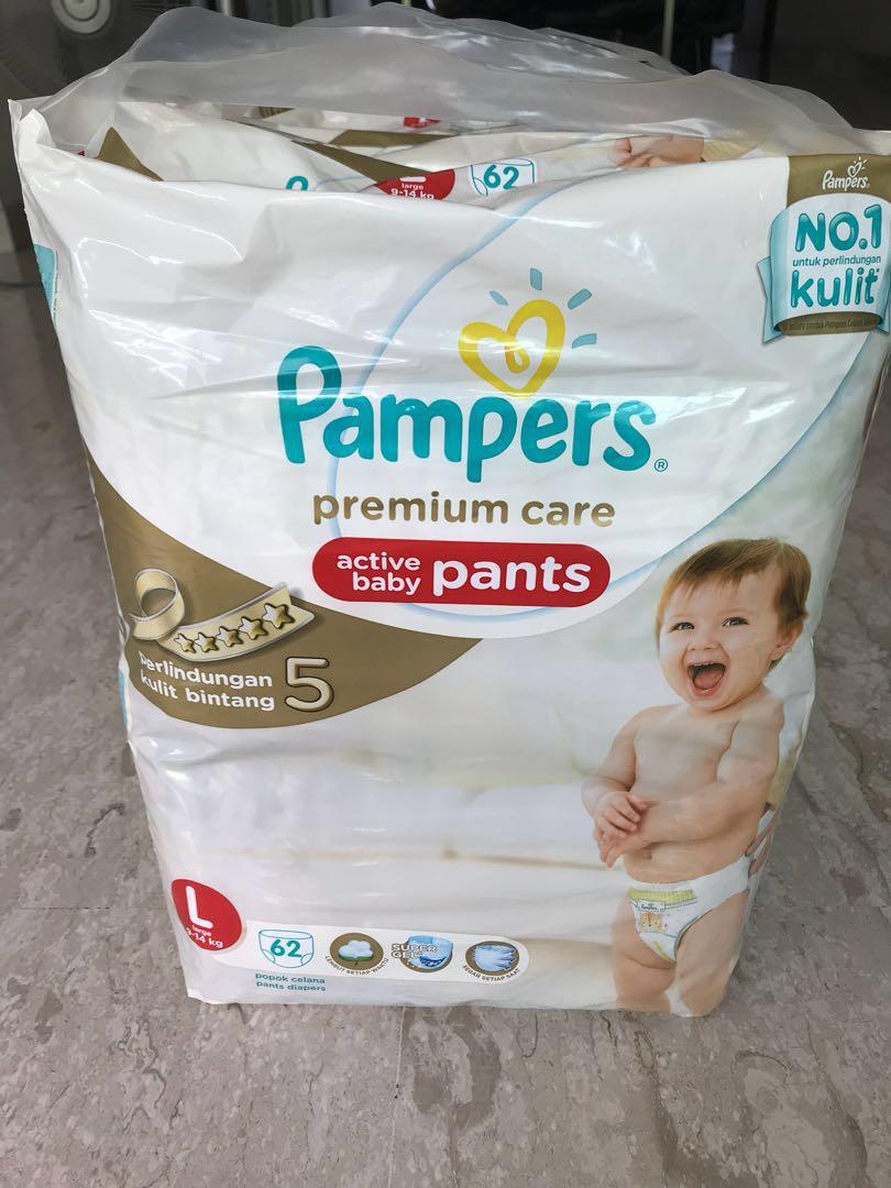 0805d14a0 Pampers premium care L pants 62 pcs