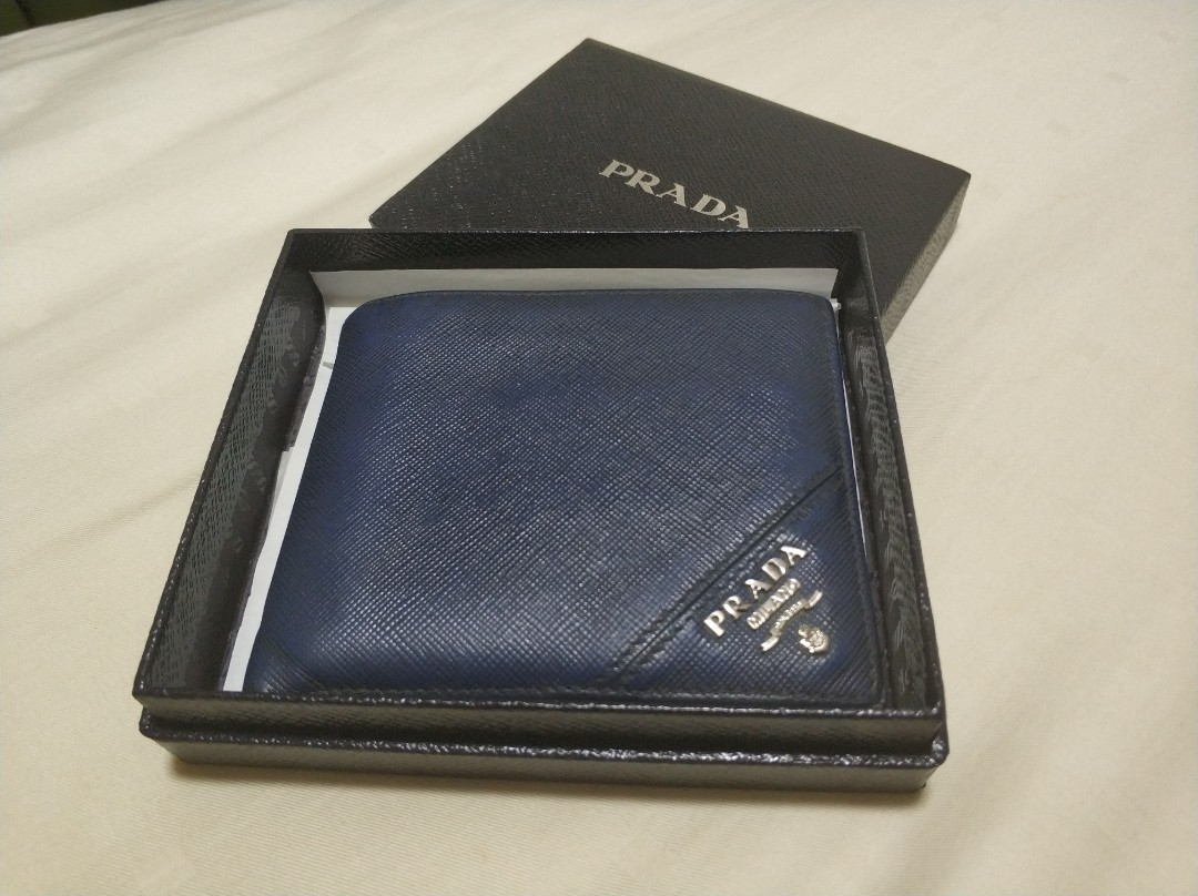 8983e803e2af Prada Wallet, Men's Fashion, Bags & Wallets, Wallets on Carousell