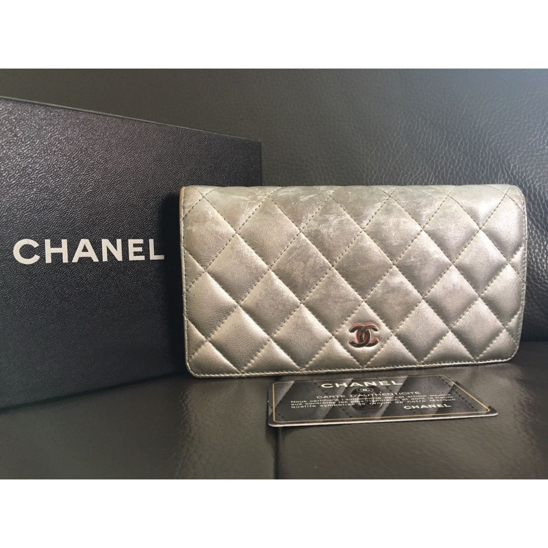 04ab00d7db5e Preloved Authentic Chanel Wallet, Luxury, Bags & Wallets, Wallets on ...
