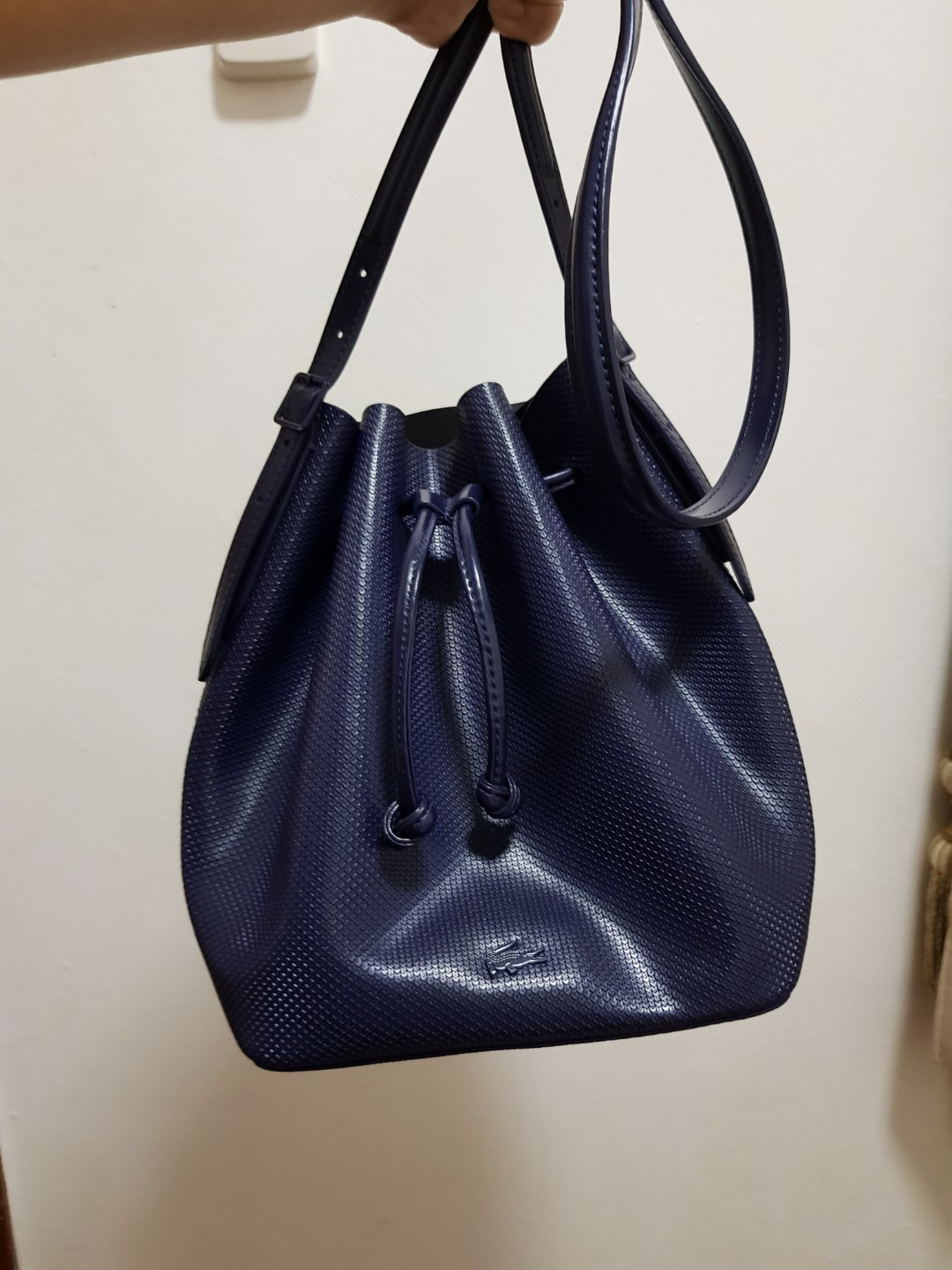d7a16279099a MOVINGOUT CLEARANCE SALE! Preloved  Authentic Lacoste Bucket Bag ...
