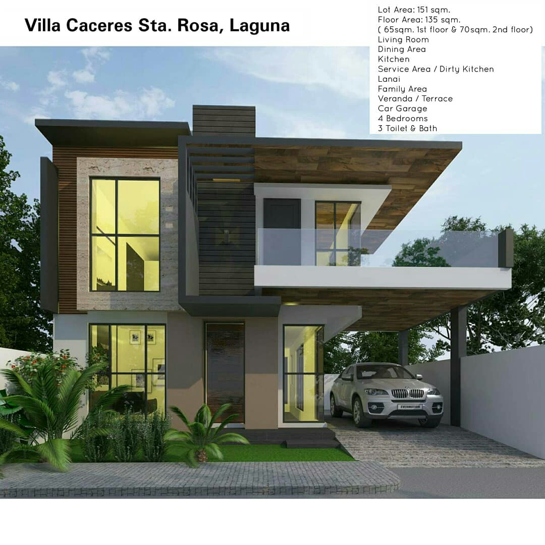 Pre selling 2 storey modern house and lot in villa caceres sta rosa laguna on carousell