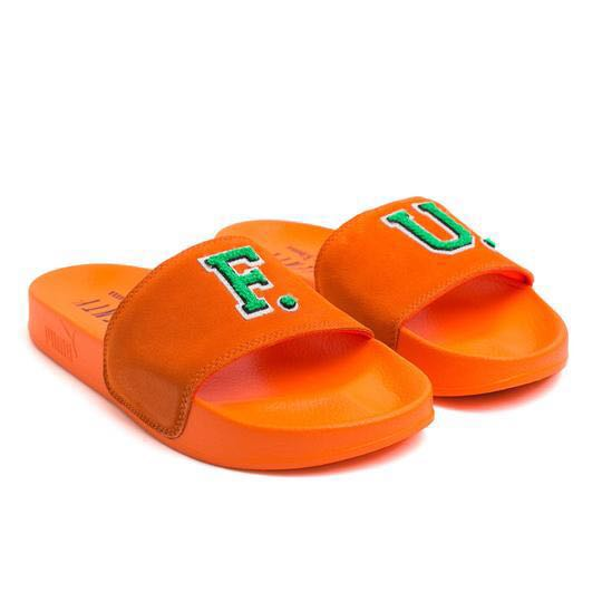 b2ee0b8a0cec2d Puma FENTY Suede Slide Sandals