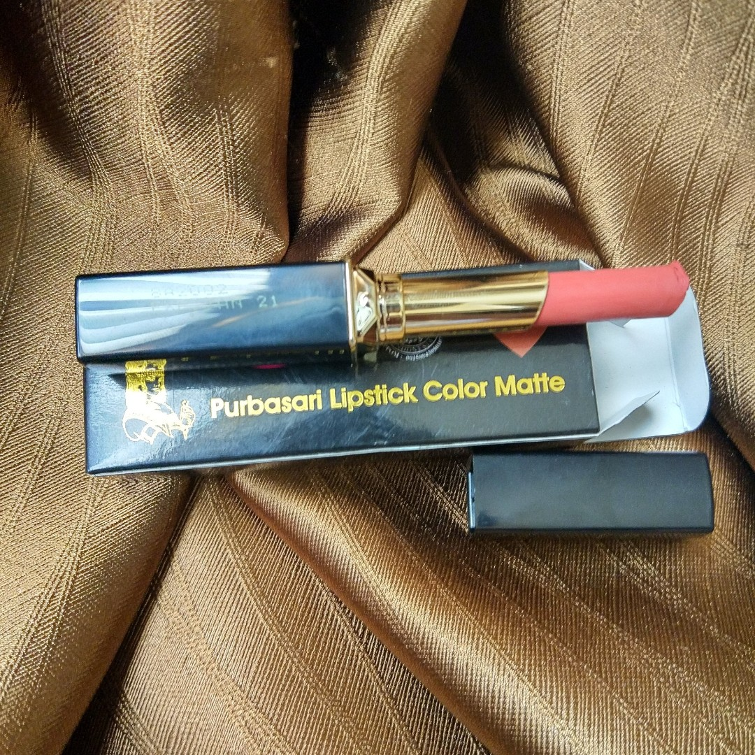 Purbasari - Lipstick Color Matte Shade 90 (Crystal), Health & Beauty, Makeup on Carousell