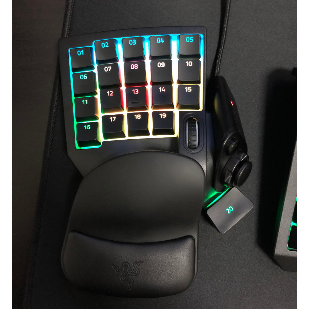 Razer Tartarus V2 Gaming Keypad, Electronics, Computer Parts