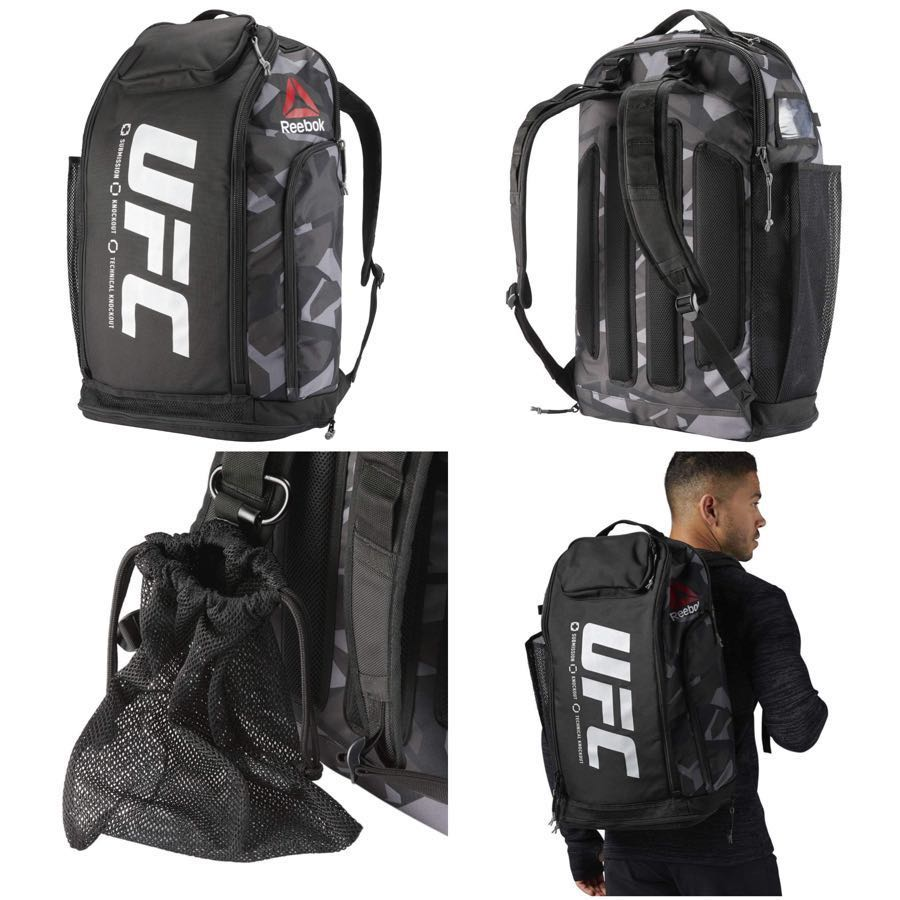 d1c67e0f415e Price Lowered! REEBOK UFC Ultimate Fan Backpack
