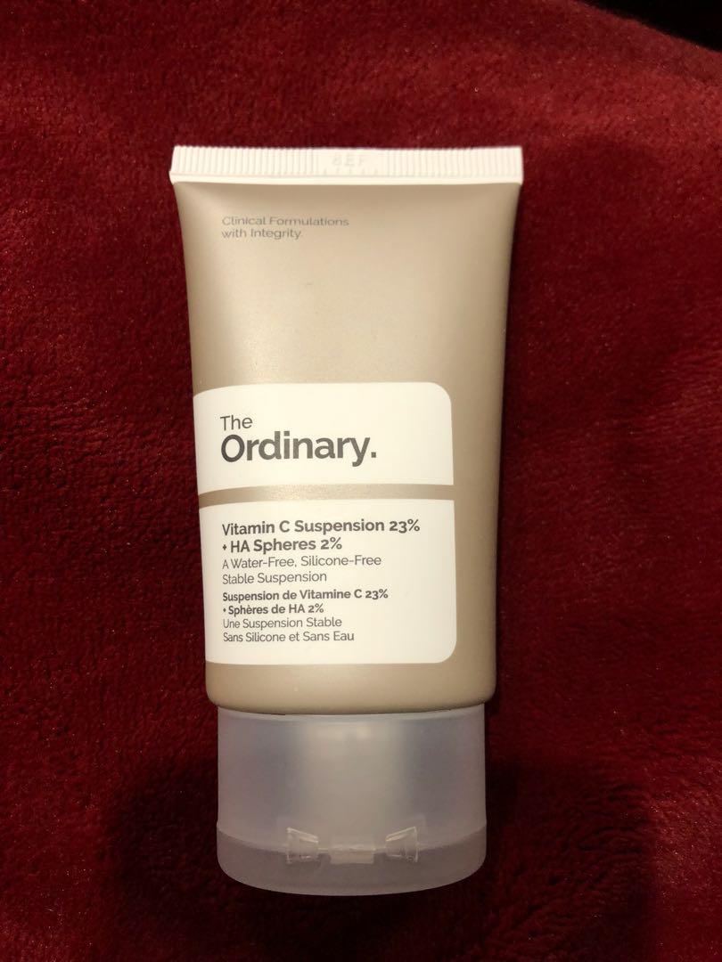 Skin care the ordinary