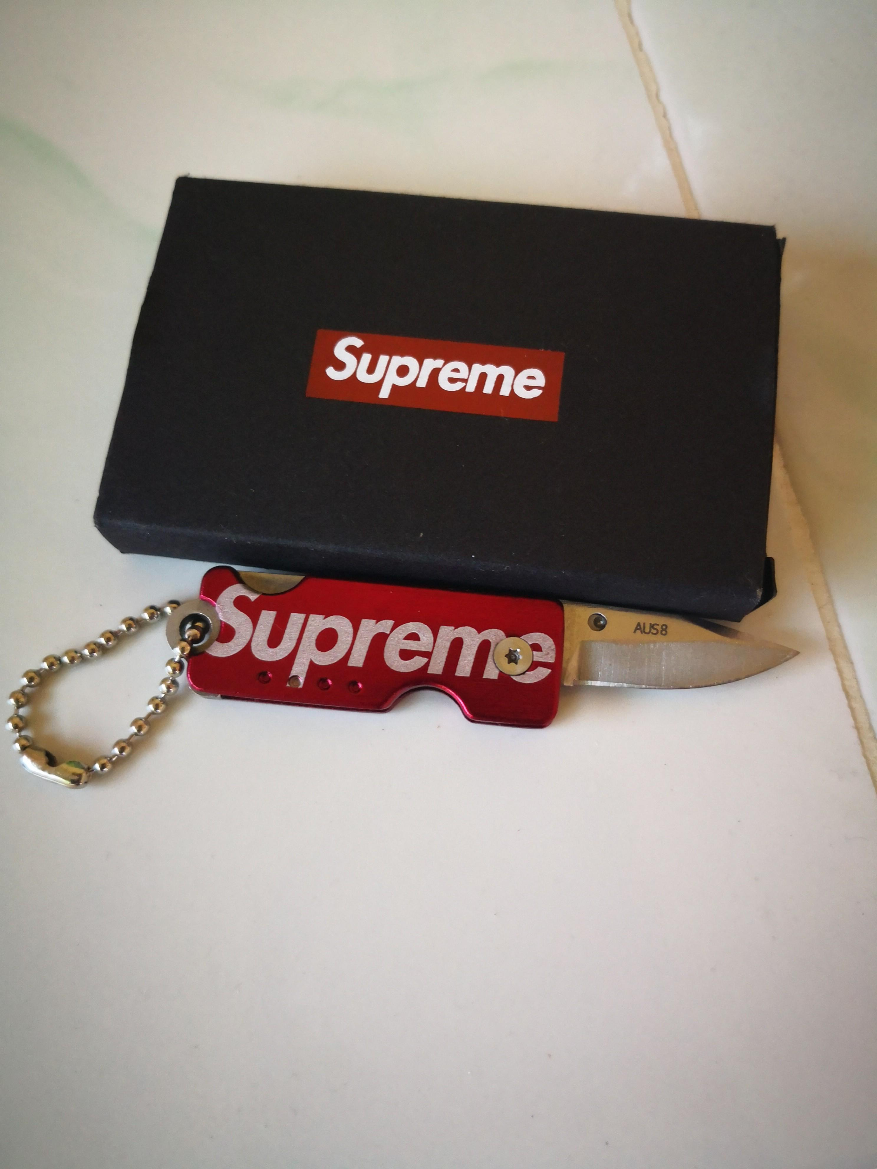 Supreme Quiet Carry Knife