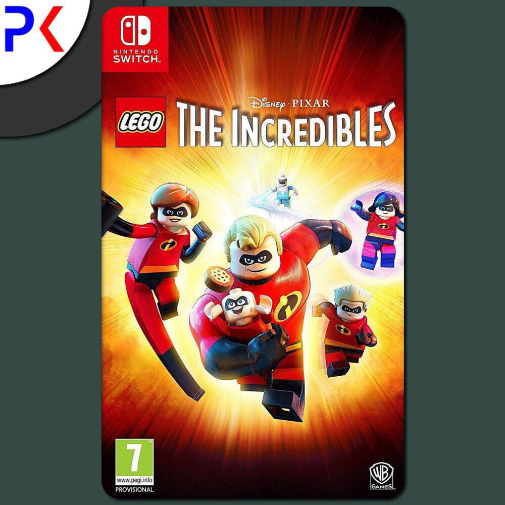 568ce208d03 SWITCH THE INCREDIBLES, Toys & Games, Video Gaming, Video Games on ...