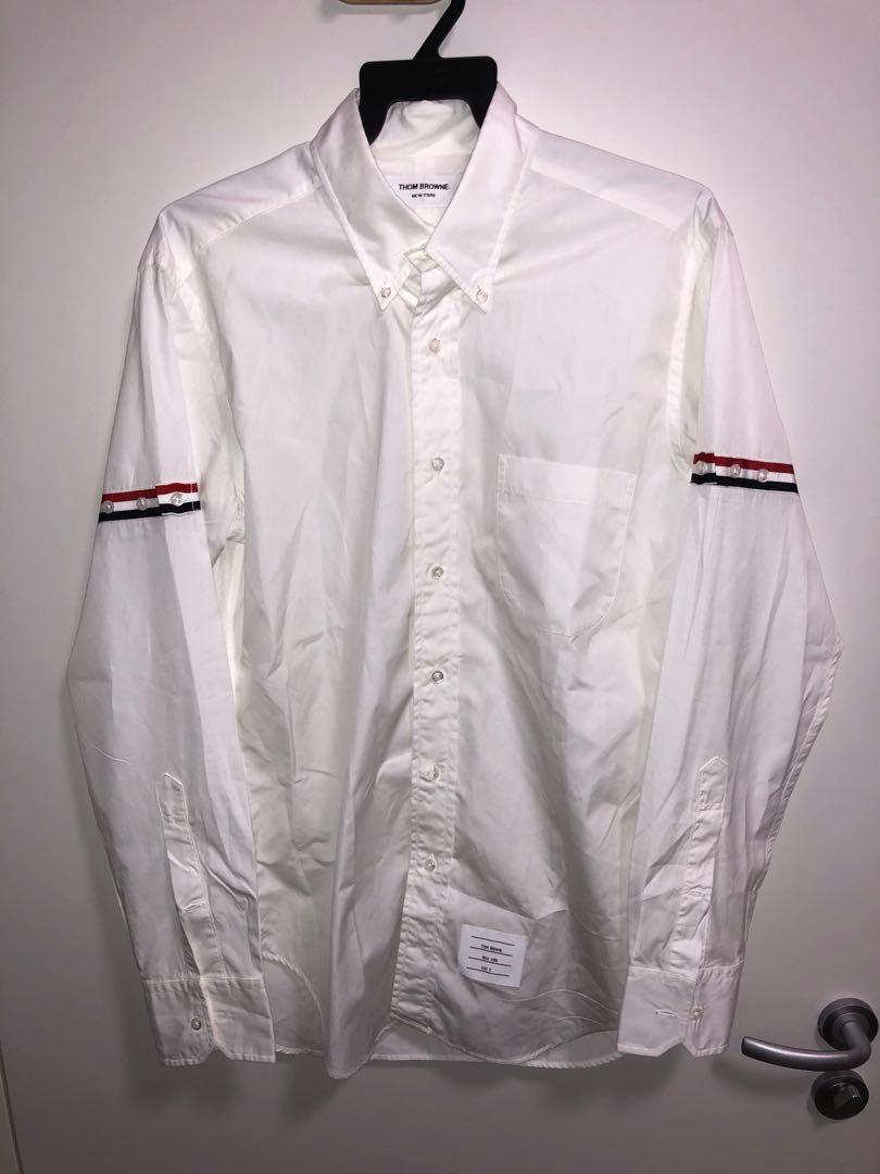 96d5bf97c195 Thom Browne Armband Shirt