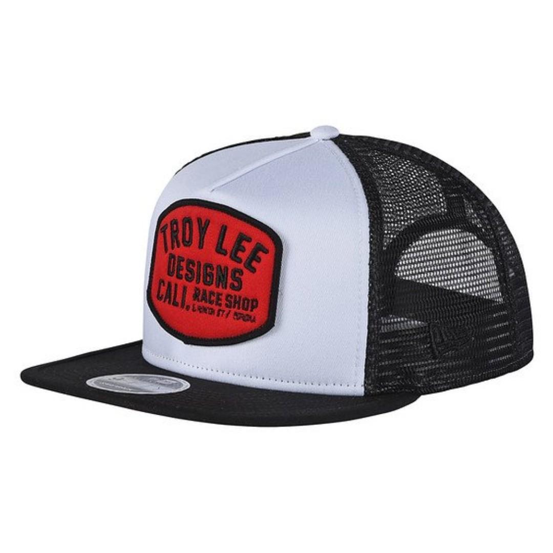 69478208971 Troy Lee Designs - Blockworks Snapback Cap (Black   White)