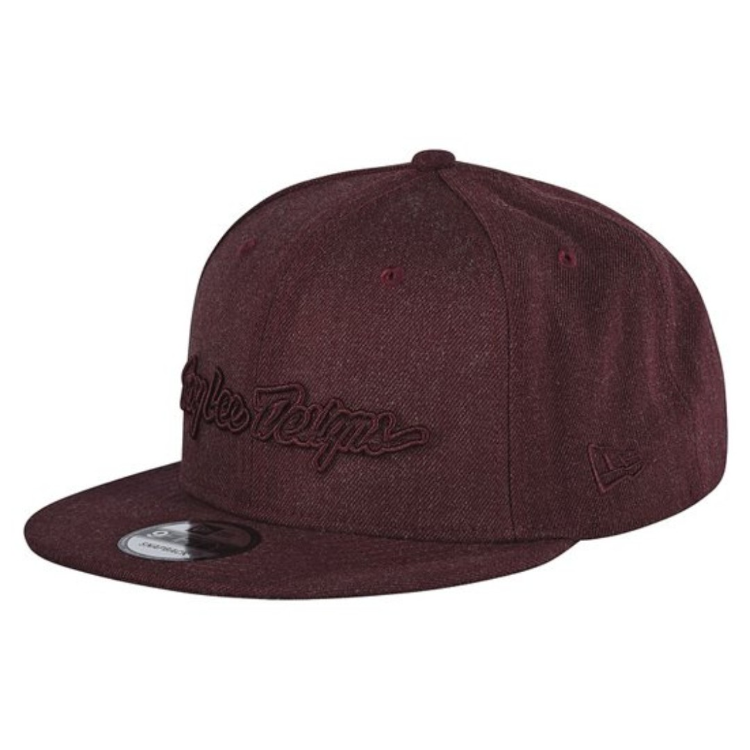77bc17e1142a2 Troy Lee Designs - Classic Signature Snapback Cap (Red Wine)