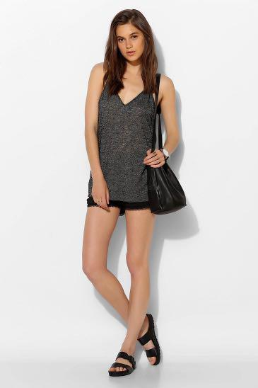 Urban Outfitters Project Social T Double V Cami in Small
