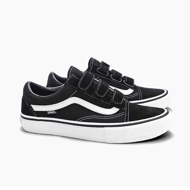6e82780fb Vans old skool velcro, Women's Fashion, Shoes, Sneakers on Carousell