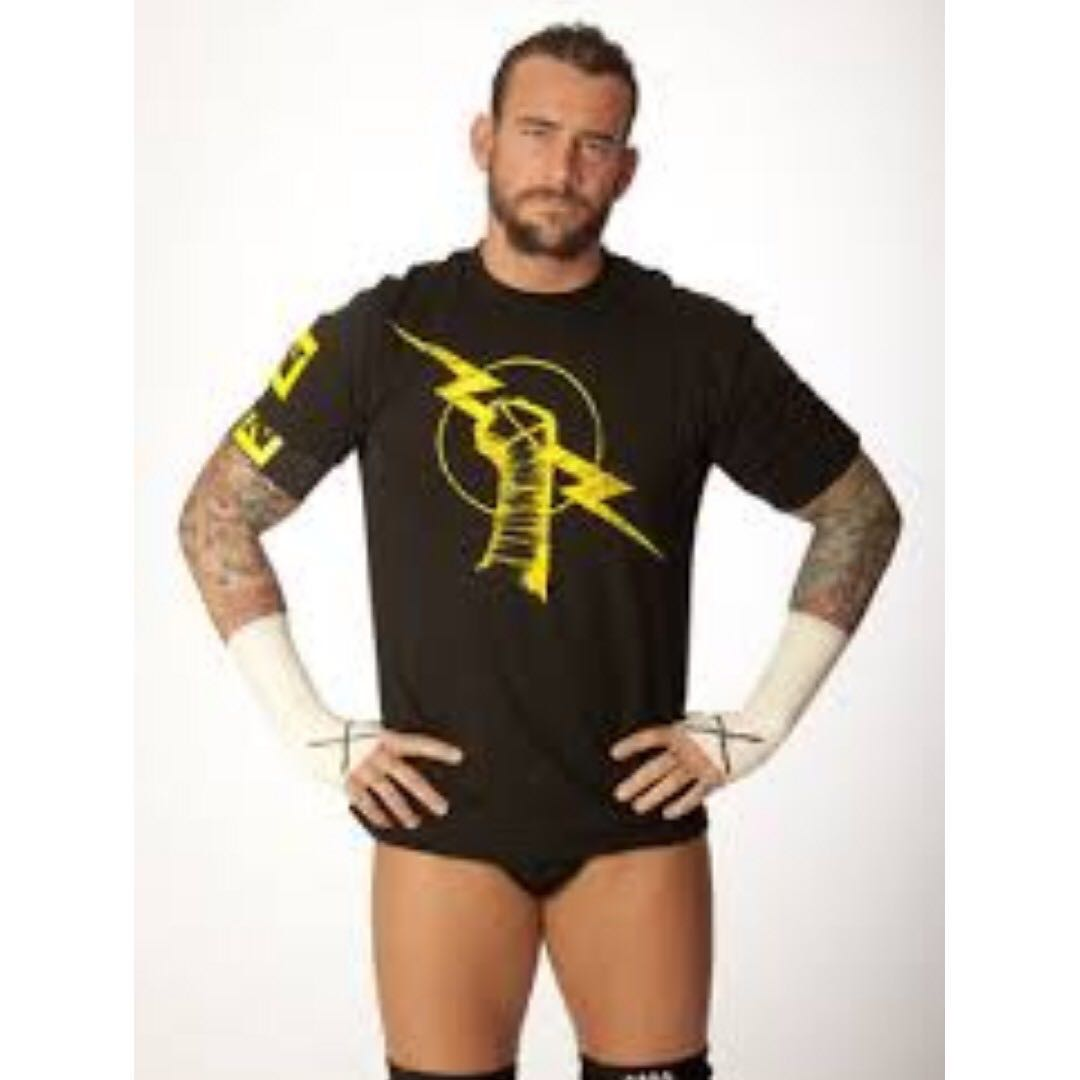 Wwe Cm Punk Nexus Shirt Mens Fashion Clothes Tops On Carousell