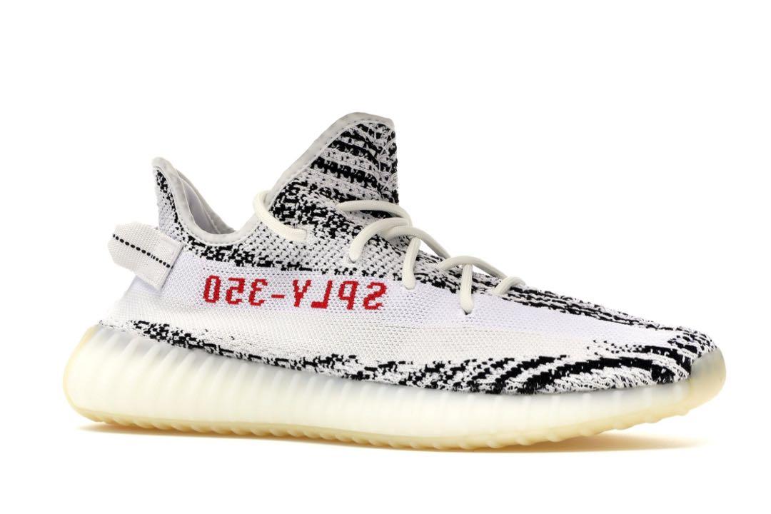 02caf917e2362 Yeezy Boost 350 v2 Zebra 🦓 US 9