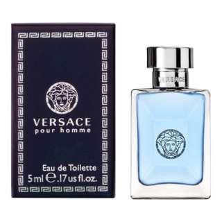 ❰保證正品❱VERSACE凡賽斯 經典男性淡香水小香 5ml 男香 香水 小香
