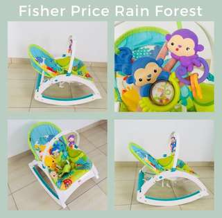 Bouncer Fisher Price Rain Forest
