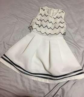 斯文裙 bread n butter one piece dress