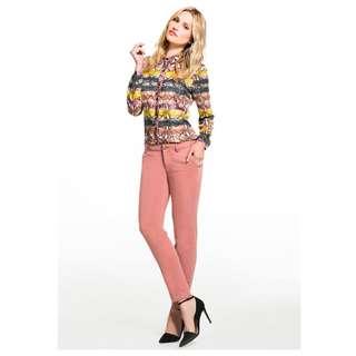 Buffalo David Bitton Women's Faded Orange Skinny Jeans