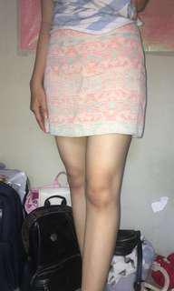 Tribal Skirt Pull n Bear