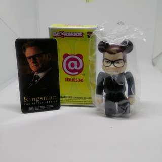 Kingsman Bearbrick Series 36 Hero figure
