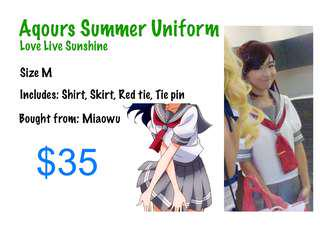 Aqours Summer Uniform