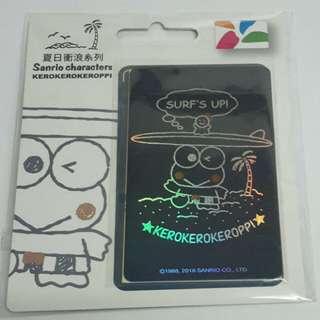 預購台灣 Keroppi 悠遊卡 约8月22日到貨