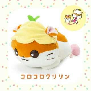 日版CK鼠麻糬趴趴公仔☆日本限定 Sanrio/Corocorokuririn/coro coro kuririn/倉鼠/hamster/plush/soft toy/kids doll
