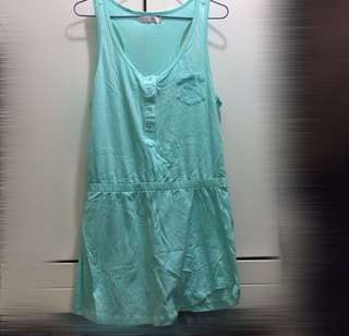 6ixty8ight Mint green dress 薄荷綠連身裙