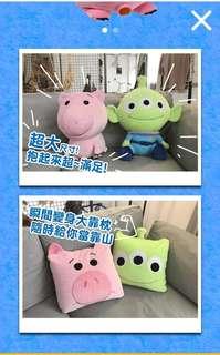 Familymart toy story 全家 反斗奇兵 三眼仔 公仔 抱枕